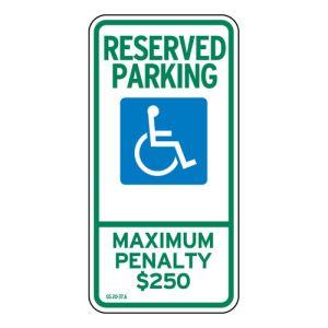 Handicap Parking Signs - North Carolina