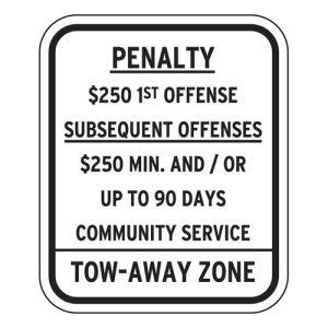 Handicap Parking Signs - New Jersey