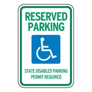 Handicap Parking Signs - Washington