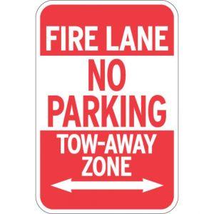 Fire Lane Signs -