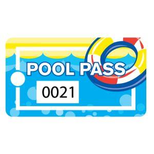 Pool Pass - Life Ring - Rectangular