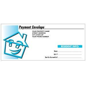 Custom Rent Envelope