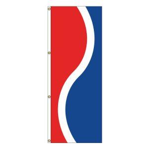 Vertical Flag - Red, White, Blue