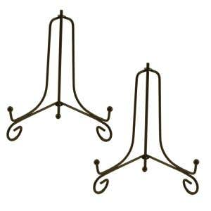 Decorative Iron Sign Stand