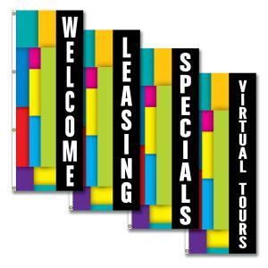 Vertical Flags - Colorblock