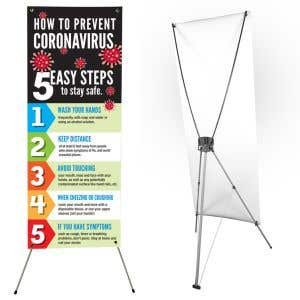Standing X Banner Kit - Small