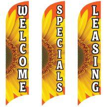 Wave Flags - Stunning Sunflower