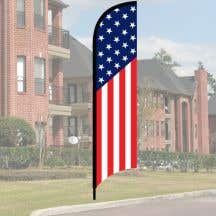 Wave Flag Kit - American
