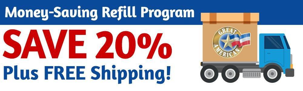 Money-Saving Refill Program
