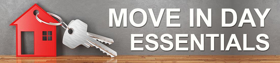 Move In Day Essentials