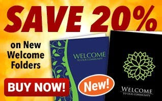 NEW Welcome Folders - SAVE 20%