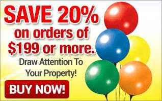 Draw Attention To Your Property - 20% off $199+ order