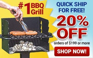 Save Big with #1 BBQ Grill 20% Off $199+ Orders