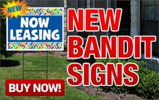 NEW Bandit Signs