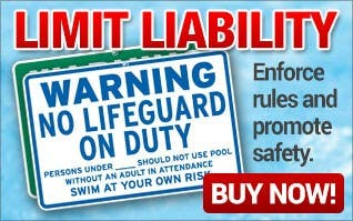 Pool Signs - Enforce Rules and Promote Safety