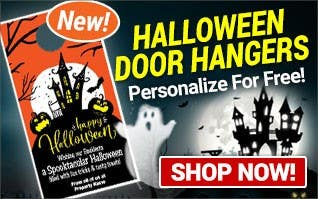 NEW Halloween Door Hangers - Personalize for FREE