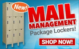 NEW Mail Management Package Lockers