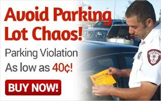 Parking Violations As Low As $0.40 Each
