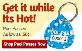 Pool Passes as low as $0.50 each