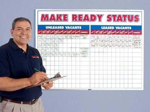 Managing property maintenance for Apartment make ready board