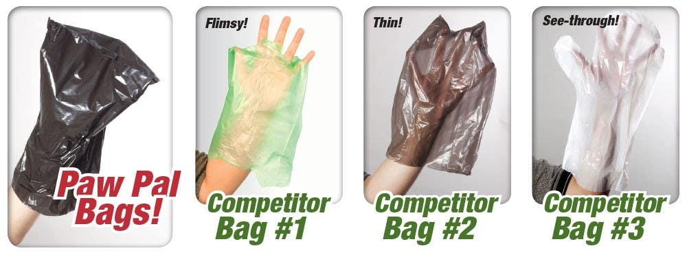 All dog poop bags are not alike.