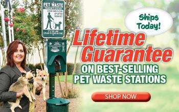 Pet Waste Station - Lifetime Guarantee