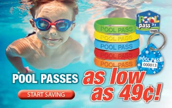 Pool Passes as low as 49 cents